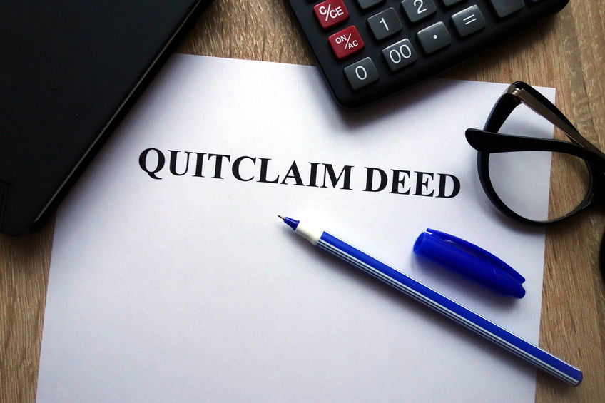 Beware of the Quit Claim Deed in a Divorce